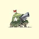 War Turtle by oddmaneric
