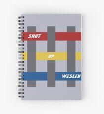 Shut Up Wesley Spiral Notebook