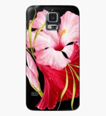Flower Power - tropischer Stil Hülle & Skin für Samsung Galaxy