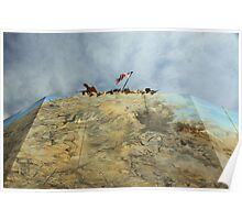 Iwo Jima in Steel Poster
