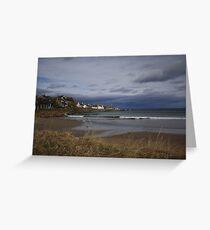 Sandend, Aberdeenshire Greeting Card