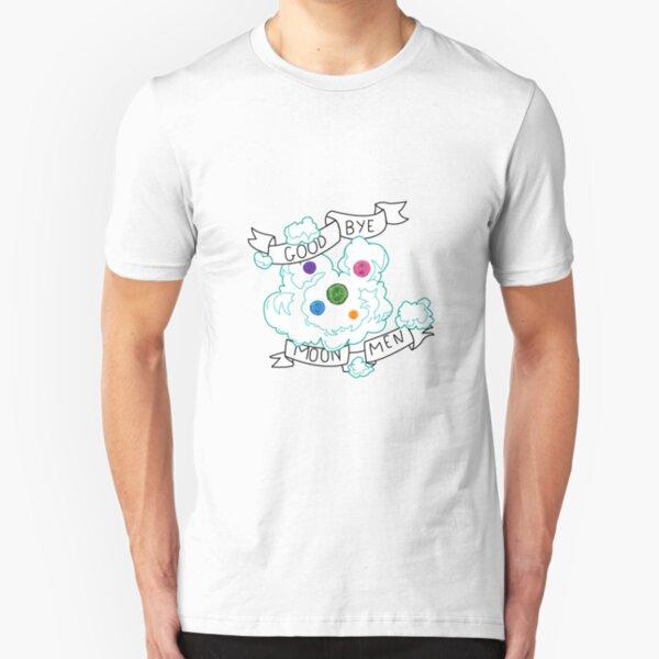 Goodbye Moonmen - Rick and Morty Slim Fit T-Shirt