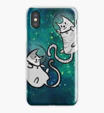 in meowter space iPhone Case/Skin