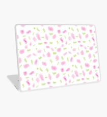 Pink and Green Scribbles Laptop Skin