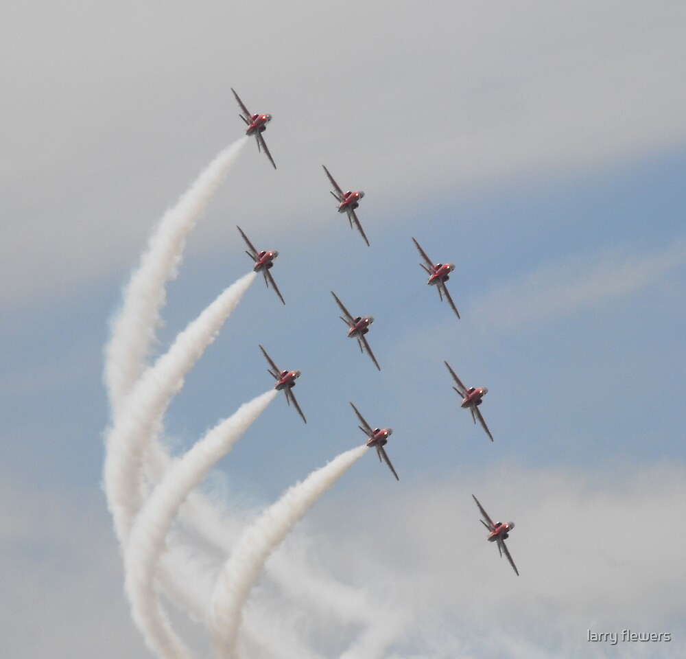 The Red Arrows by larry flewers