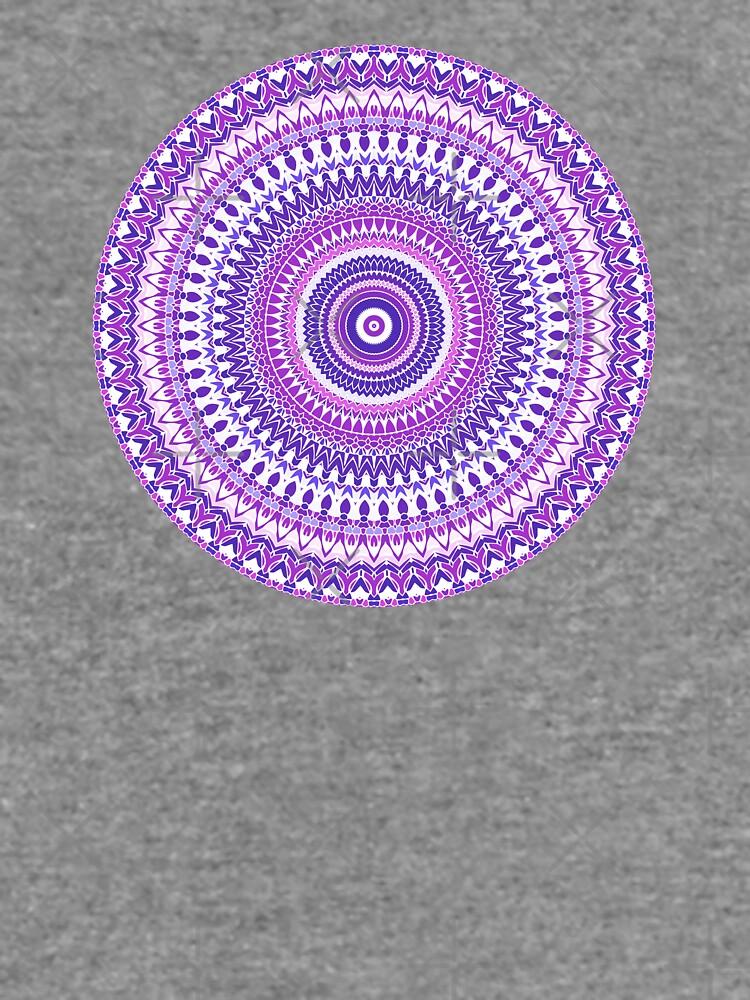 Purple Forever Mandala by kellydietrich