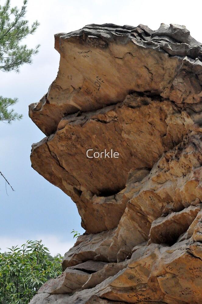 Balanced Rock by Corkle