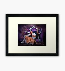 Mythical Maiden Framed Print