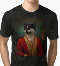 The Hermitage Court Waiter Cat Tri-blend T-Shirt