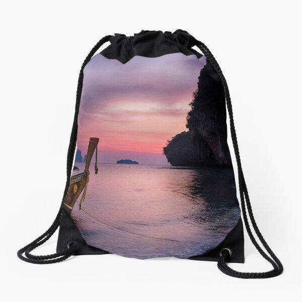 Railay Beach, Krabi Drawstring Bag