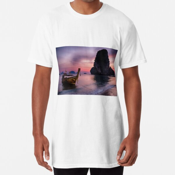 Railay Beach, Krabi Long T-Shirt