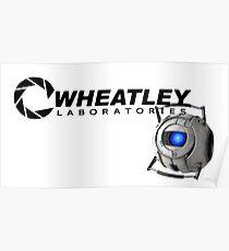 Póster Laboratorios de wheatley