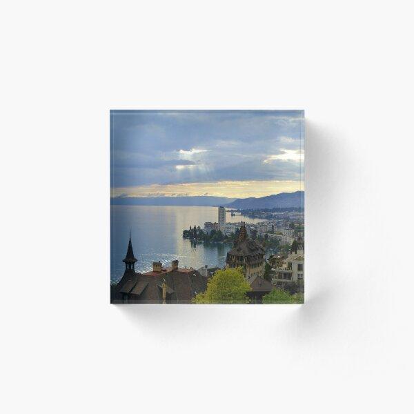 Montreux Evening Acrylic Block