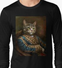 The Hermitage Court Outrunner Cat  Long Sleeve T-Shirt