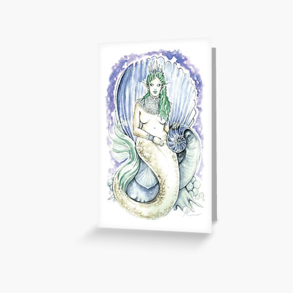 Mother of Pearls Greeting Card