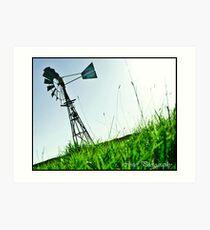 Great Ocean Road Windmill Art Print