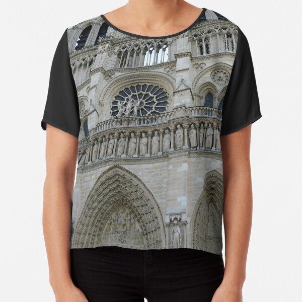 Cathédrale Notre-Dame de Paris Chiffon Top
