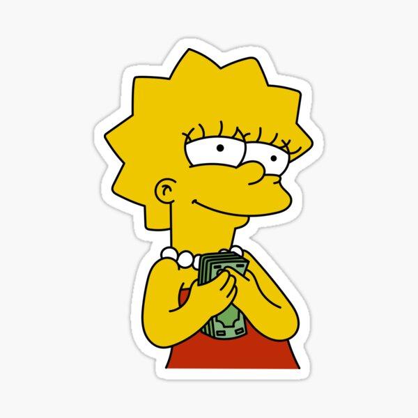 Geld Lisa Sticker
