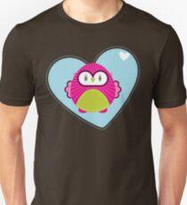 OWL SERIES :: heart hoot 4 Unisex T-Shirt