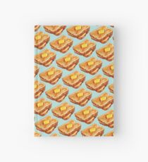 Buttered Toast Pattern Hardcover Journal