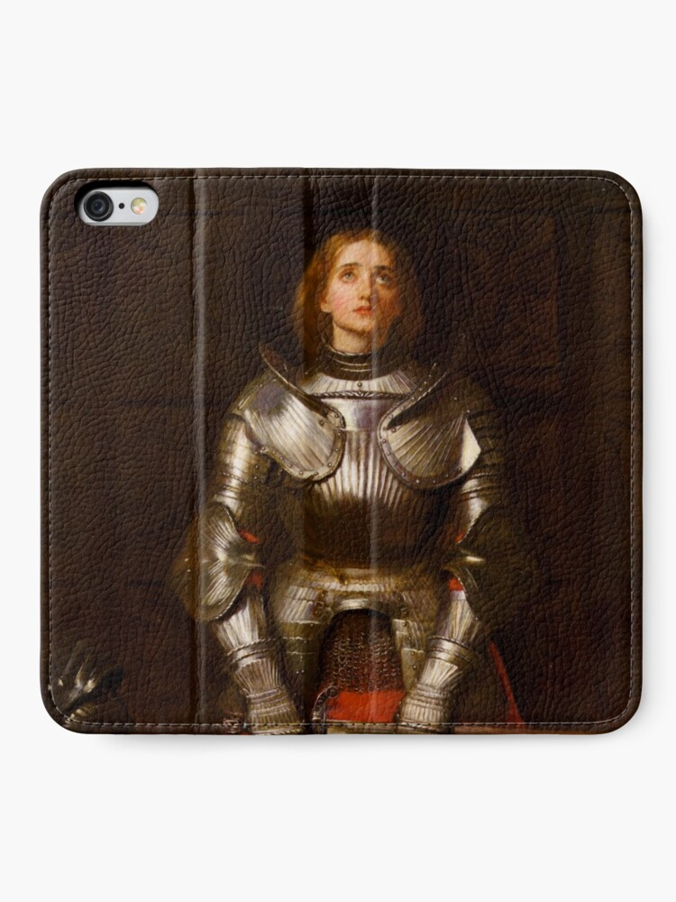 Alternative Ansicht von Jeanne d'Arc iPhone Flip-Case