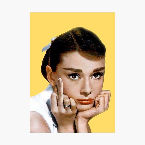 Hepburn Photographic Print