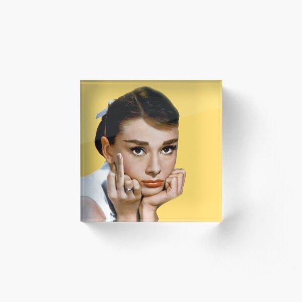 Hepburn Bloc acrylique