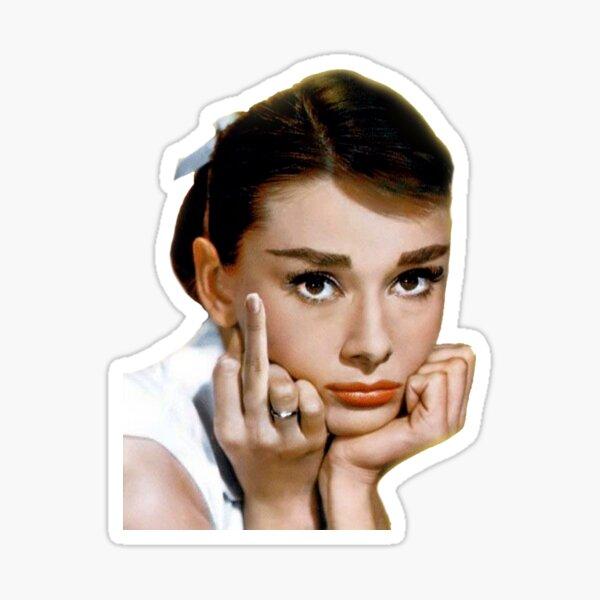 Hepburn Pegatina