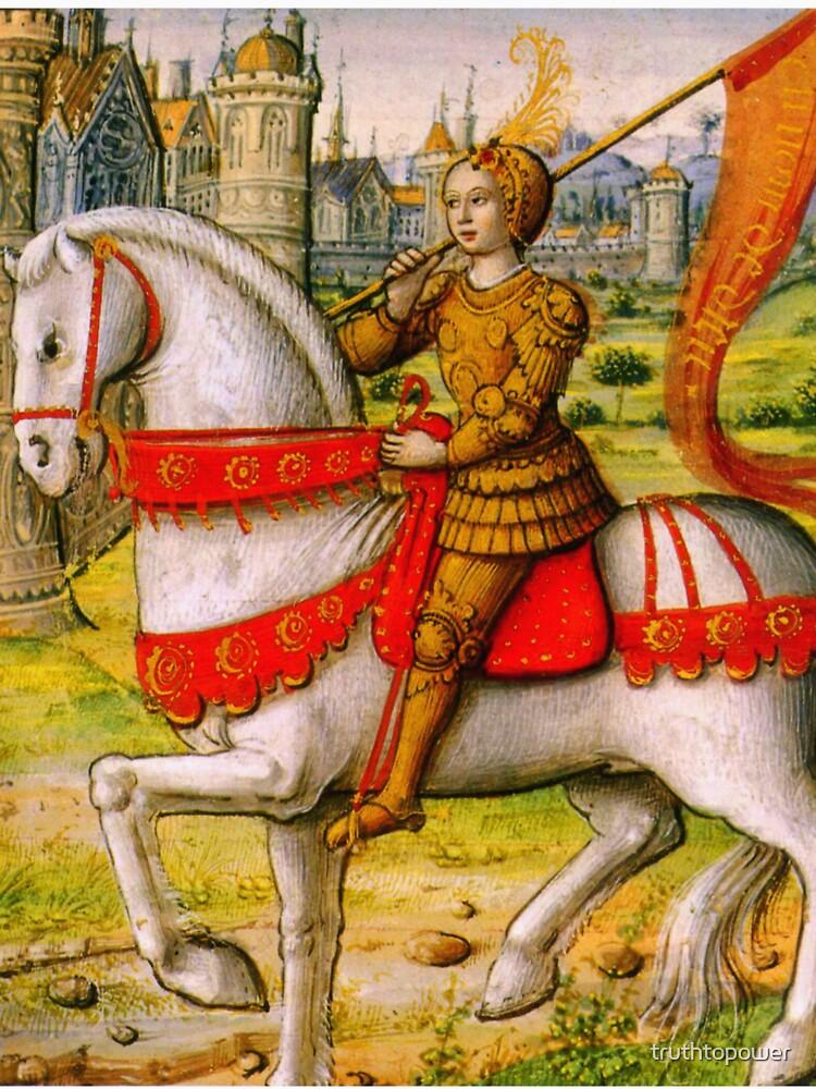 Jeanne d'Arc zu Pferd von truthtopower