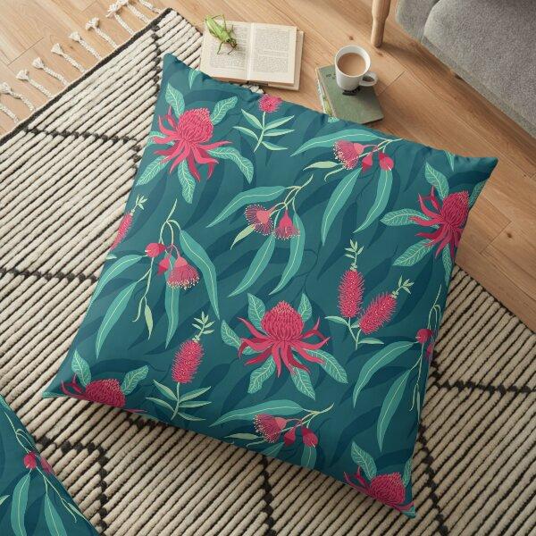 Australian Flora Floor Pillow