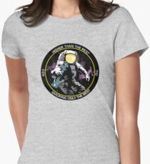 bong ripping astronaut  Women's Fitted T-Shirt