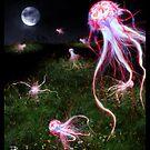Ocean Invasion #6: Jellyfish Fields by Daniel Brown