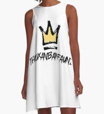 King A-Line Dress