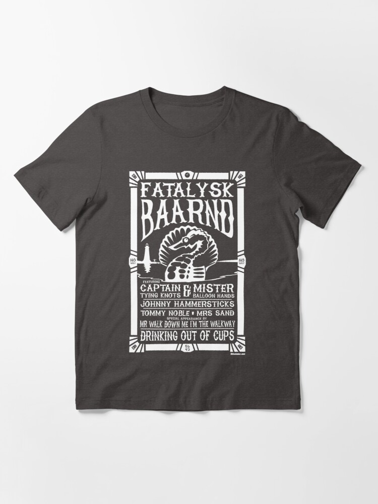 Alternate view of Drinking out of Cups Tribute - WHITE INK Essential T-Shirt