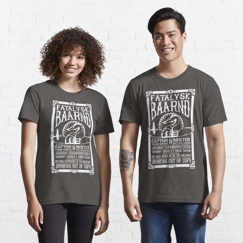 Drinking out of Cups Tribute - WHITE INK Essential T-Shirt