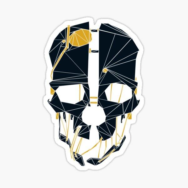 Dishonored Mask (Dark) Sticker