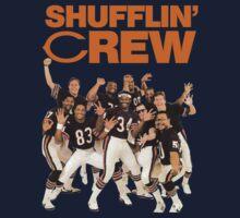 Chicago Bears Super Bowl Shufflin' Crew (Orange Text)