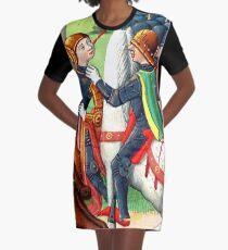 Die Einnahme von Jeanne d'Arc durch die Burgunder. T-Shirt Kleid