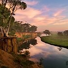 Peaceful dawn at Werribee Park by NadiaLe