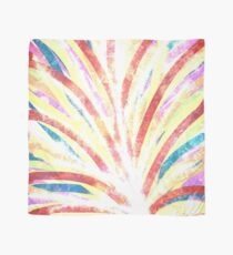 The Fountain - Striped Abstract Drawn Digital Art  Scarf