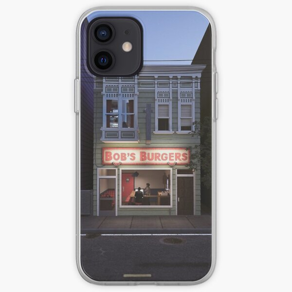 Bob's Burgers Night Shift iPhone Soft Case
