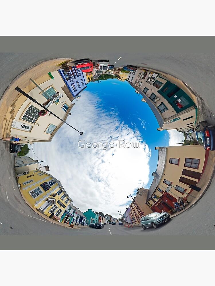 Kilcar Crossroads - Sky in by VeryIreland