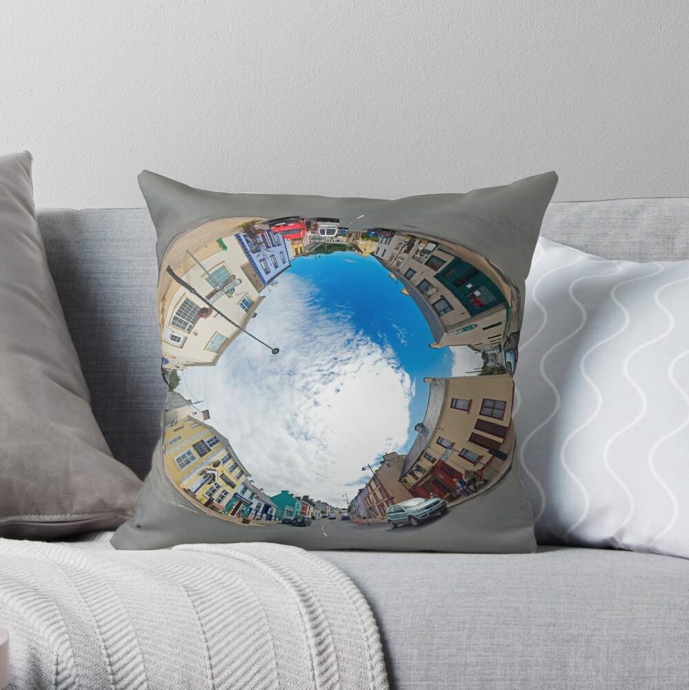 Kilcar Crossroads - Sky in Throw Pillow
