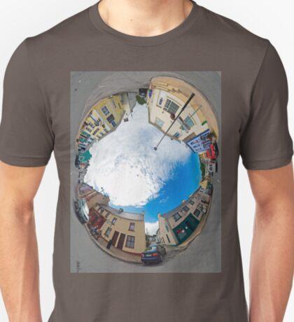Kilcar Crossroads - Sky in T-Shirt