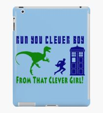 Run Clever Boy, From That Clever Girl iPad Case/Skin