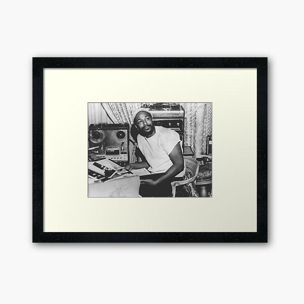 Marvin Gaye Portrait Framed Art Print