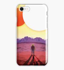 Retro NASA Travel Poster - Kepler 186f iPhone Case/Skin