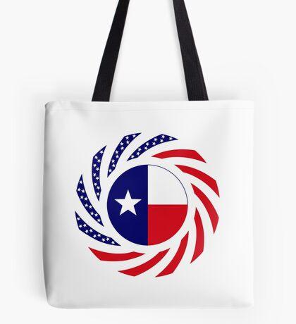 Texan Murican Patriot Flag Series Tote Bag