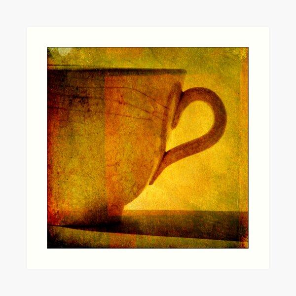 I would love a cup of tea ... Art Print