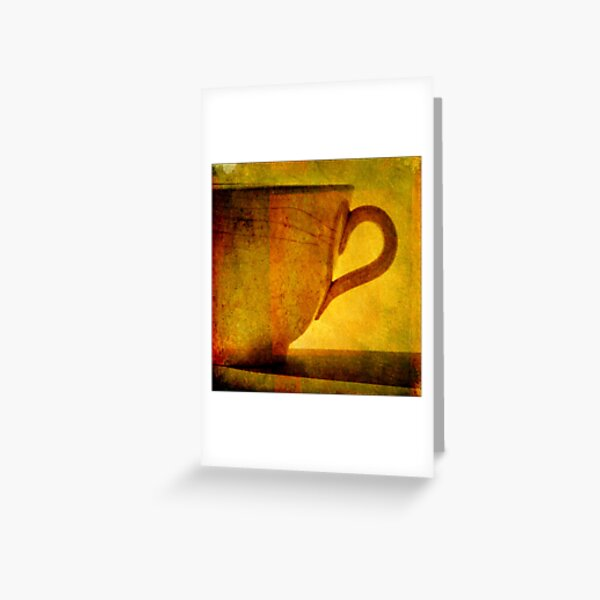 I would love a cup of tea ... Greeting Card